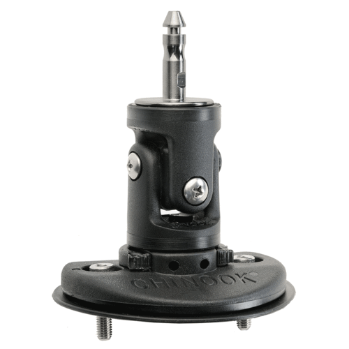 Chinook - 2-BOLT Mechanical Pin Base